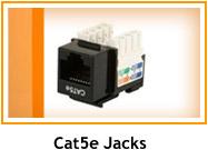 Cat5e jacks