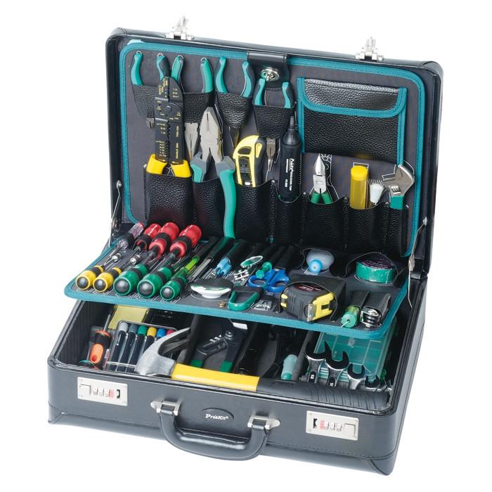 Electronic Tool Kits : Electronics master tool kit briefcase style