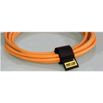"""1 x 3"""" Cable Wrap, Rip-Tie (Black, 10-Pack)"""