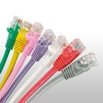 Cat6 UTP Patch Cables Molded With Bubble Boots
