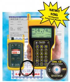 Fiber OWL4 BOL T / Wave Source SM VFL Test Kit