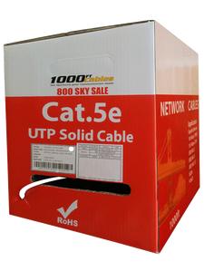 1000FT Cat5e Riser Bare Copper Network Cable
